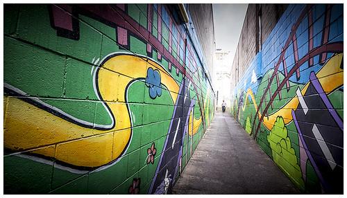 Alleyway artwork