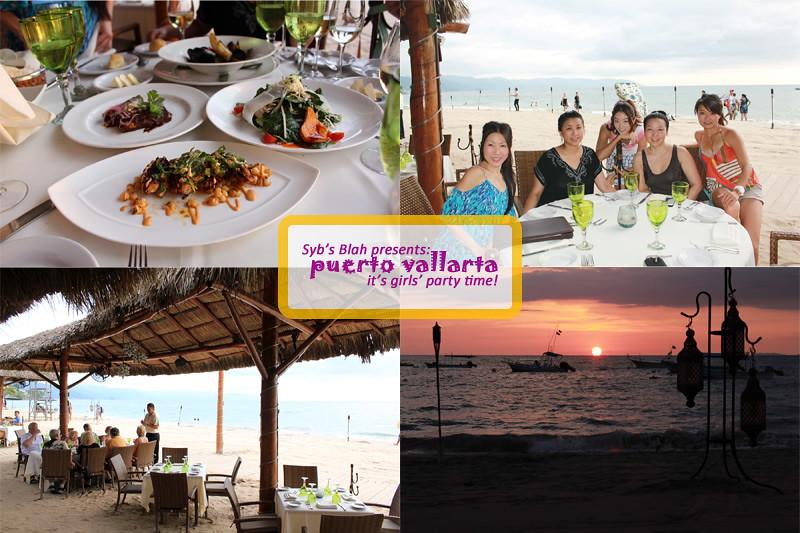 旅行,旅遊,遊記,墨西哥,Puerto Vallarta,巴亞爾塔港,國外旅遊,單身趴,單身派對,bachelorette party, 墨西哥料理, La Palapa