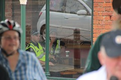 Victoria police were keeping tabs on us from Maccas at Bakery Hill - Eureka160-IMG_9401