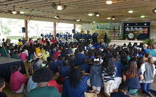 Crowd-at-Everglades-National-Park-Quarter-Ceremony