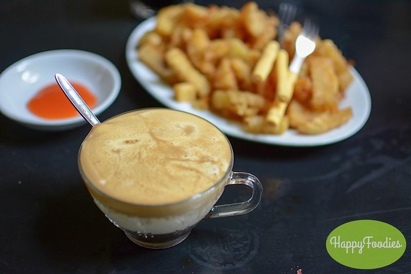 Caphe Trung or Egg Coffee