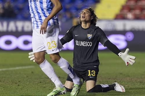 El portero mexicano Guillermo Ocha fue titular en el partido de vuelta, en el que recibió tres goles Foto Jam Media
