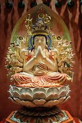 Thousand arm Avalokiteshvara, Buddha Tooth Relic Temple