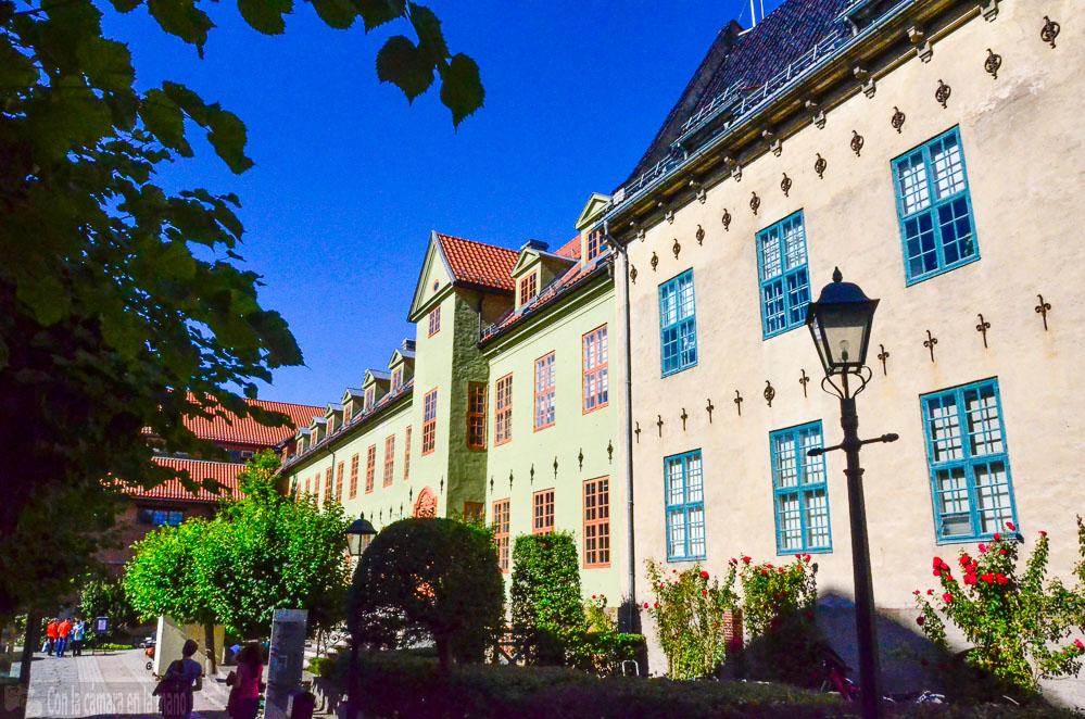 Museo Folklórico Noruego en Oslo