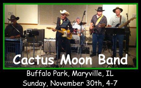 Cactus Moon Band 11-30-14
