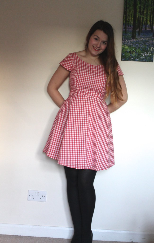 Great British Sewing Bee full skirted dress