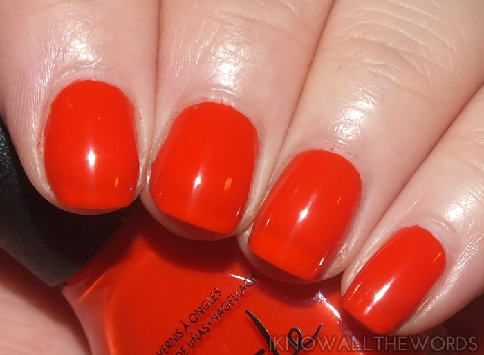 nicole by opi new shades- my claim to flame