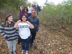 Coates Bluff Nature Trail, Caddo Magnet HS geography