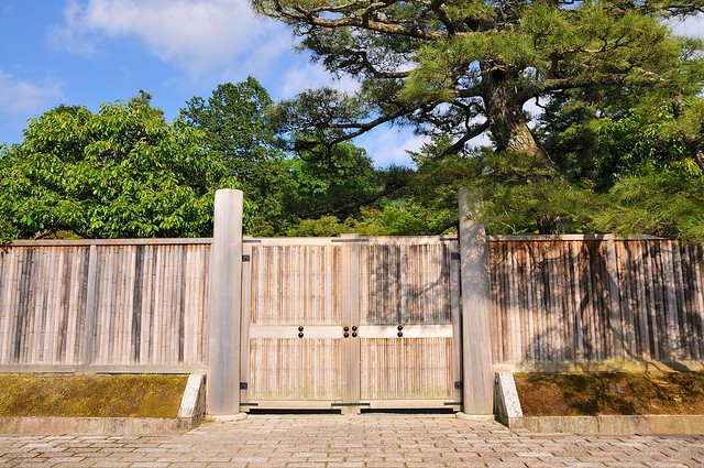 Shugakuin imperial villa gate