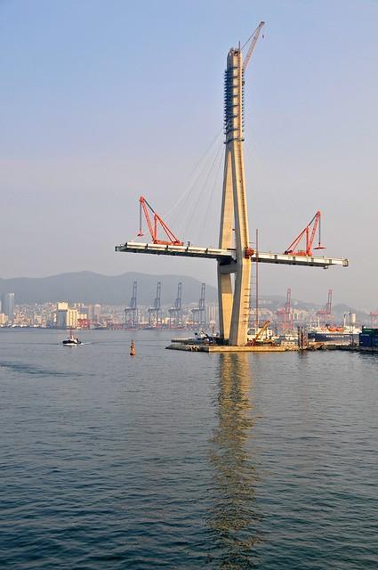 Bridge in progress