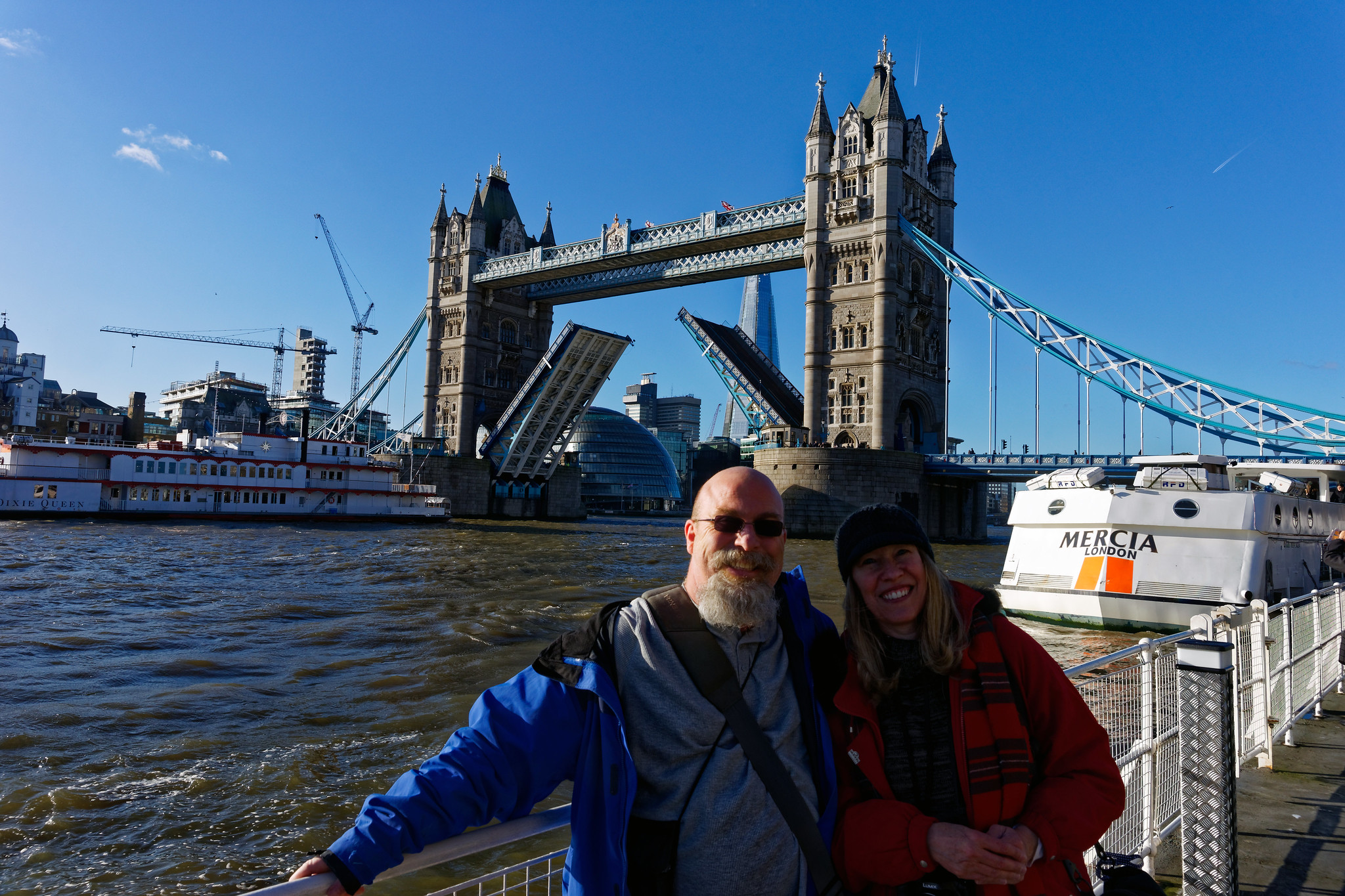 Cynthia and Me @ The Tower Bridge