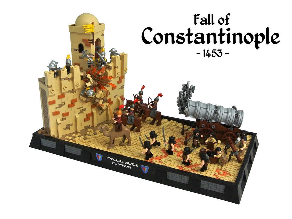 Lego Konstantinápoly - Konstantinápoly ostroma - Építő: Disco86