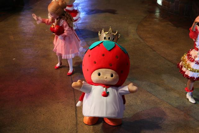 サンリオピューロランド無料開放日 いちごの王さま