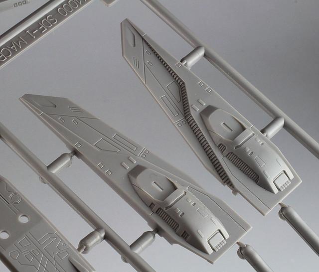 """【官圖和販售資訊更新】HASEGAWA 超時空要塞""""劇場版""""  1/ 4000 組裝模型"""