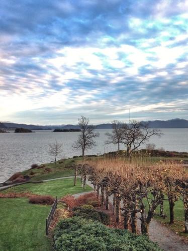sea sky norway norge view fjord vestlandet solstrandhotelbad
