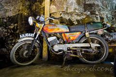 Yamaha Old Bikes popular among tin-mine workers