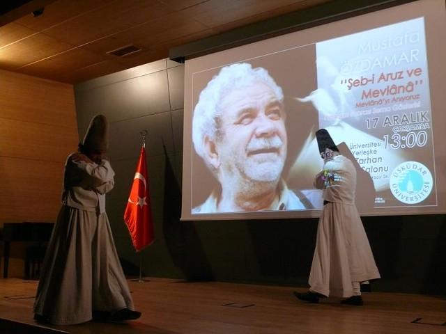 Üsküdar Üniversitesi'nde Mevlana anıldı… 2