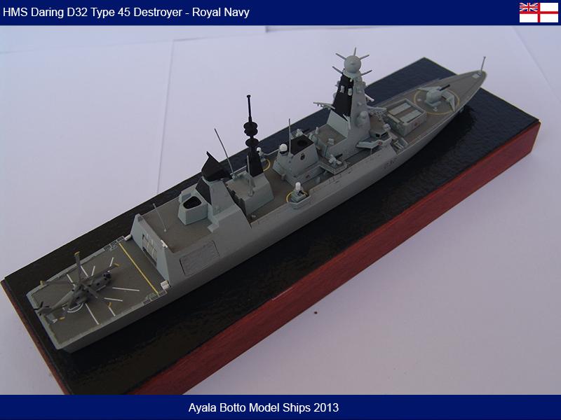 HMS Daring D32 Type 45 Destroyer Royal Navy - Cyber Hobby 1/700 16055286593_30c4de3112_c