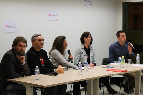 Jean-Baptiste Gendarme, Laurent Bettoni, Elizabeth Sutton, Stéphanie Vecchione, Nicolas Francannet - Auteur-entrepreneur au Labo de l'édition