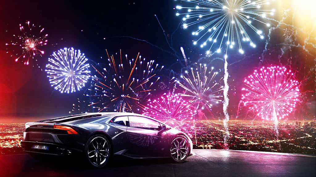 Happy New Year Lamborghini