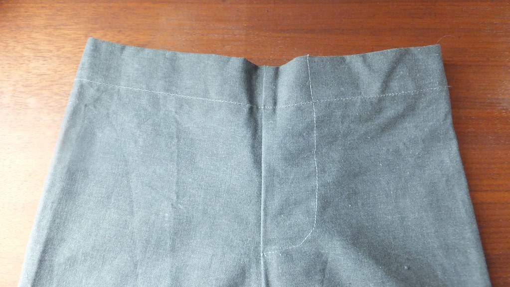 pants O gray cotton pockets s1564 size L 18 mos