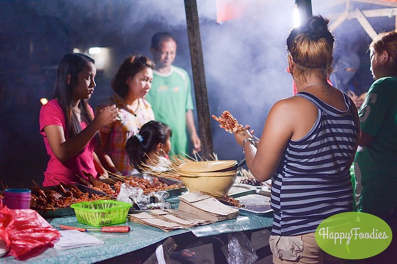 The piso BBQ is popular among the locals