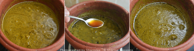 How to make Curry Leaves Kuzhambu - Step7