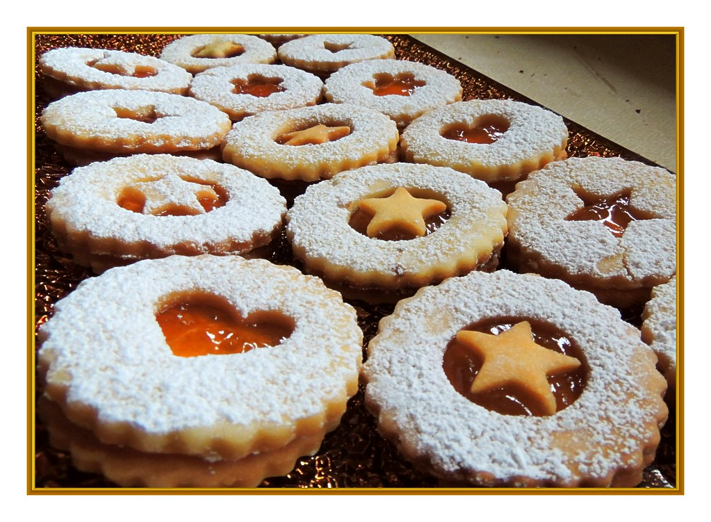 Are absolutely Austrian christmas cookies excellent message))