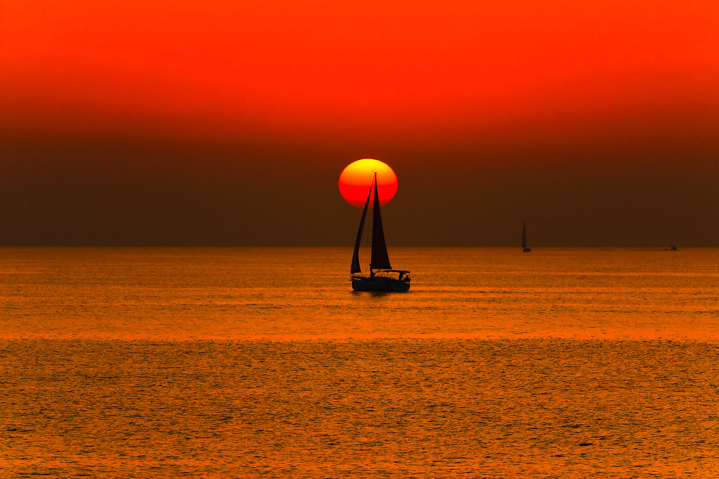 sailing in a golden sea - Explore #5 - 17.01.15