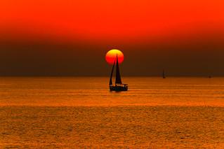 sailing in a golden sea - Explore #5 - 17.01.15