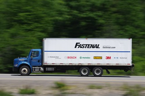 Softer sales means lower utilisation of Fastenal's trucks which impacts gross margins
