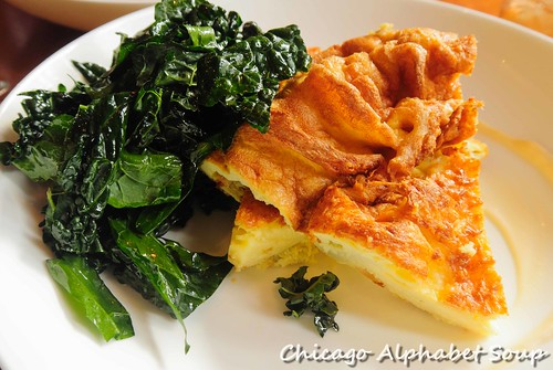 Seasonal Frittata and Spinach
