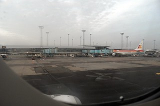 CPH AIRPORT FROM A319 G-GRHM FLIGHT CPH-CDG