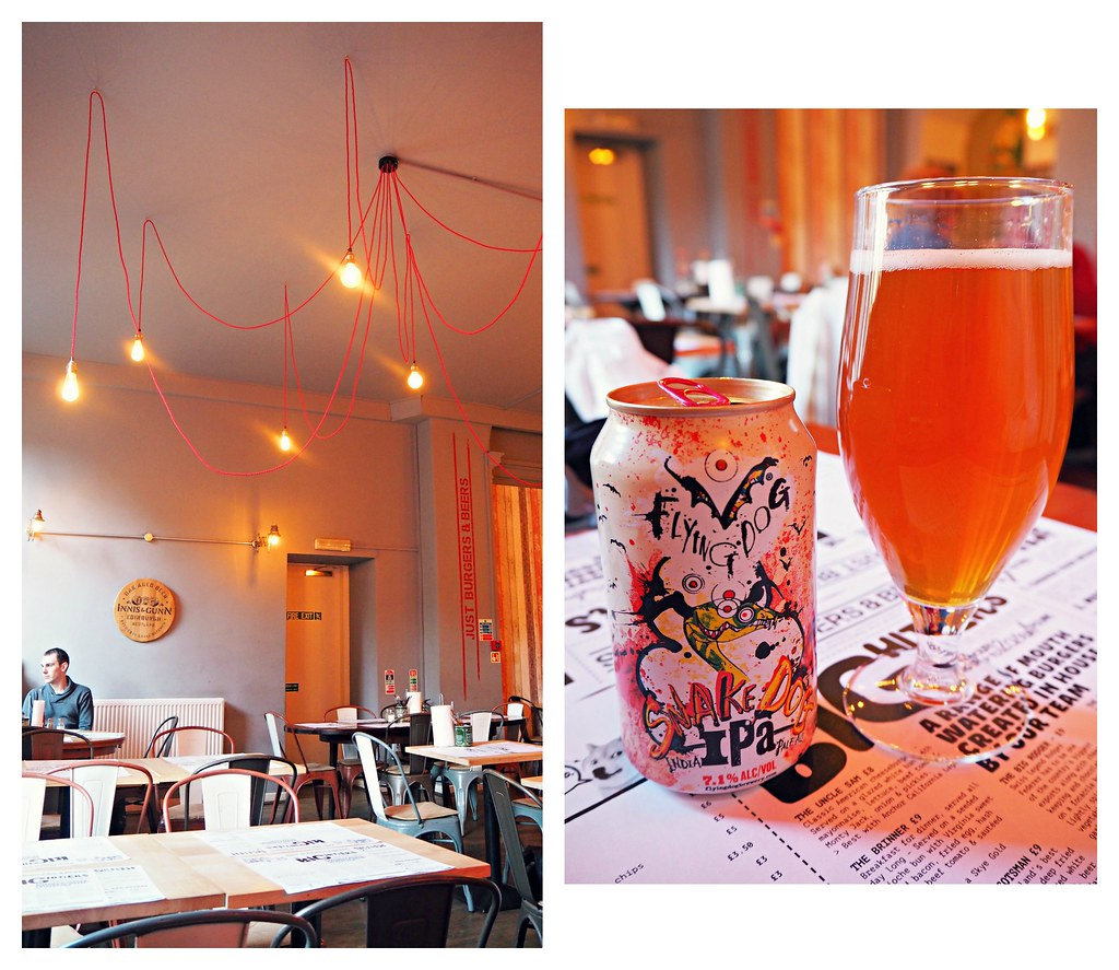 Just Burger and Beers Edinburgh review 1