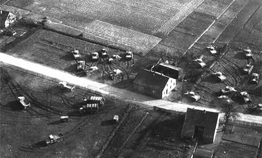 Vista aérea del Ejército fantasma
