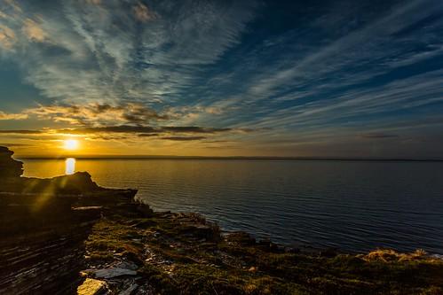 sea summer sky norway clouds sunrise canon norge ngc nationalgeographic finnmark porsanger porsangerfjord einarschioth