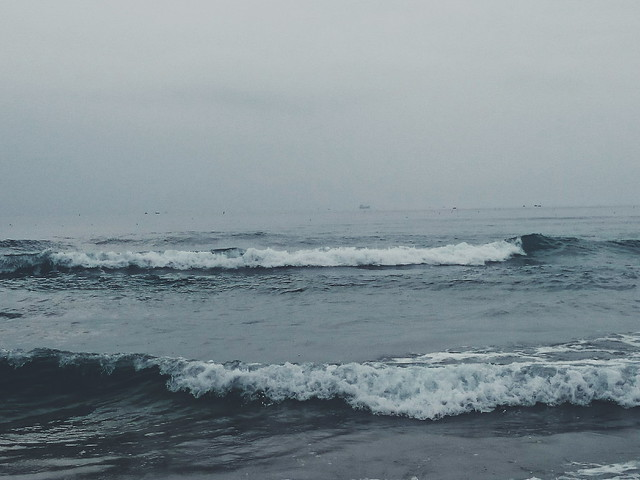 .This is how I remember you and the sea.