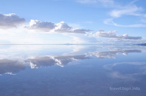 【写真】世界一周 : ウユニ塩湖(夕方-5)