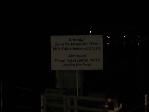 Terribly translated sign at a major tourist city (Bingen am Rhein).