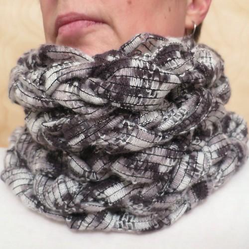 Bulky Arm Knit Cowl