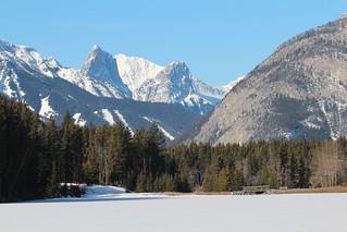Johnsons Lake Alberta Canada Banff national park