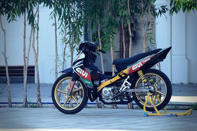 Jupiter độ phiên bản chạy sân Malaysia Cub Prix 1