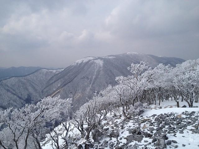 天狗岩北展望スポットより御池岳