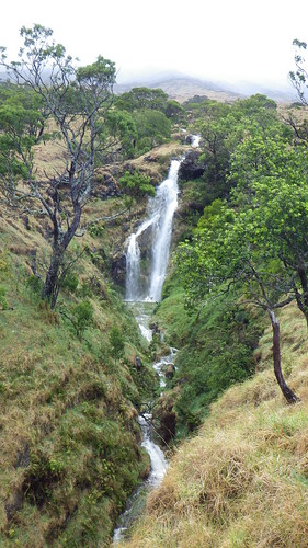 A waterfall in Nakula NAR after a big rain storm.