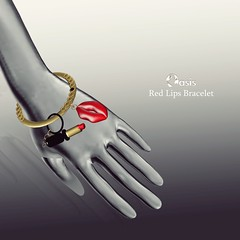 .O A S I S. Lips Bracelet(resizer)  N E W ! !