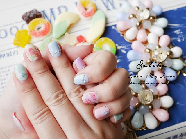 馬卡龍光療指甲 (15)