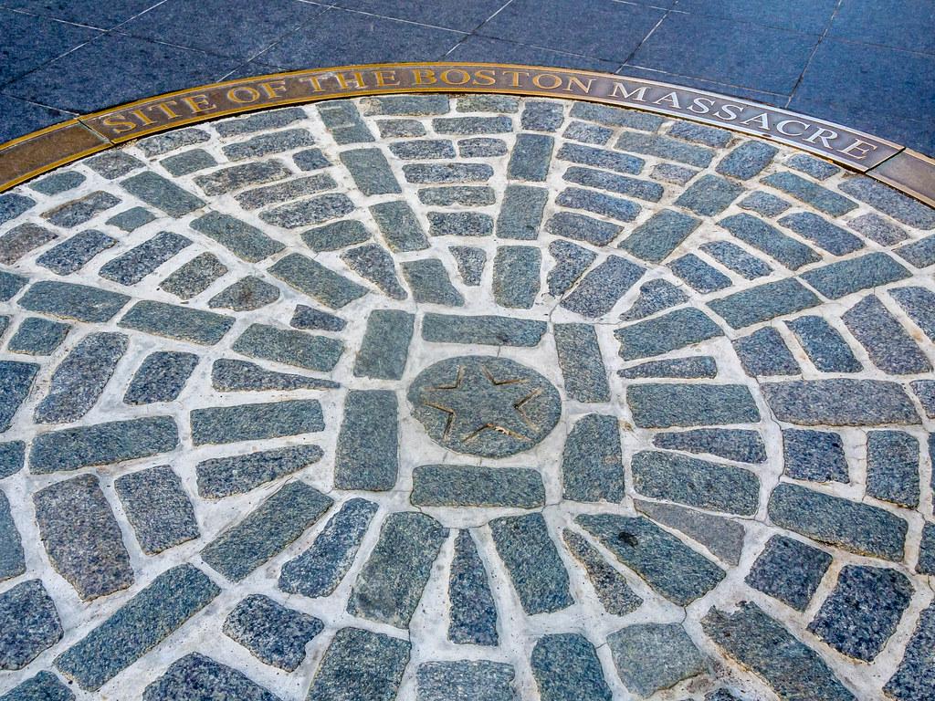 Site of the Boston Masacre