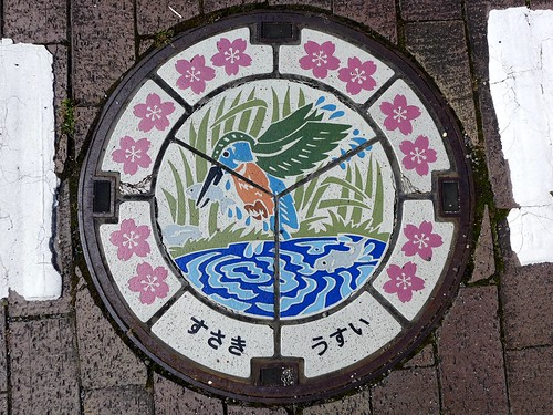 Susaki Kochi, manhole cover (高知県須崎市のマンホール)