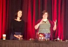 GDC 2015 Jane and Gillian giving talk