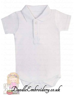 Polo Body Suit - White copy